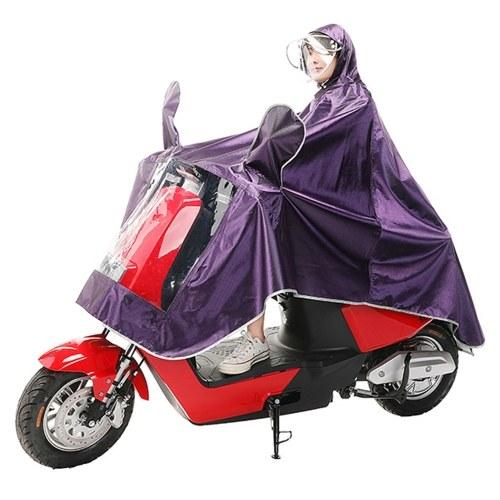 New Style Jacquard Double Brim Motorcycle Raincoat