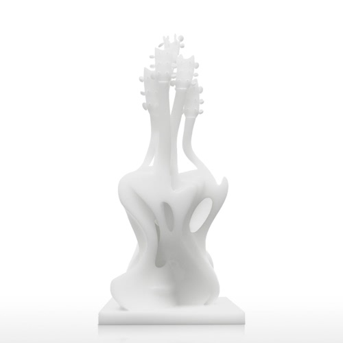 Tomfeel Dancing Guitar 3D Gedruckte Skulptur Home Decoration Exaggerative Modell
