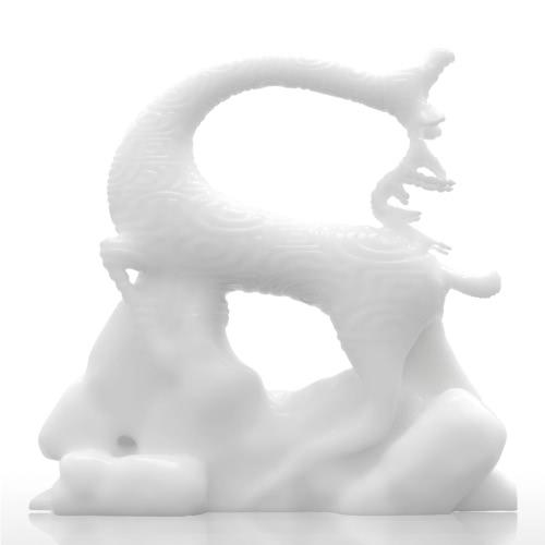 Tomfeel 3D Печатная скульптура Поющие олени Первоначально Дизайн Украшение Украшение Украшение