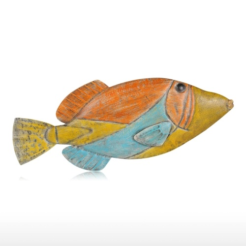 Fish Wall Hanging 6 Iron Wall Decor Ornament Creative Craft Wall Setting Wall Hanging Marine Life
