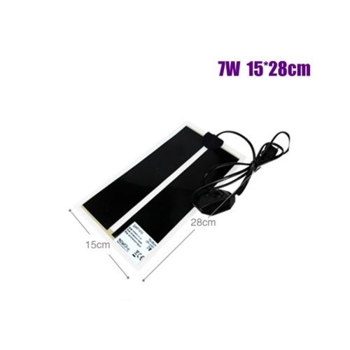 7W Pet Heating Mat Electric Heating Pad Warming Mat for Reptiles Pet Supplies