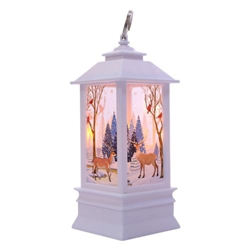 Weihnachtsflammen-Licht führte Licht