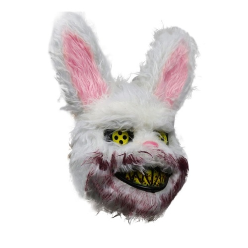 Explosion Halloween Bloody Rabbit Plüschmaske