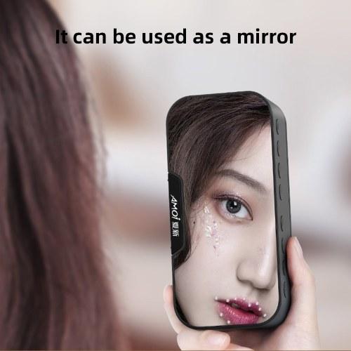 G5 G10 mirror clock wireless bluetooth speaker portable voice collection card bluetooth speaker black