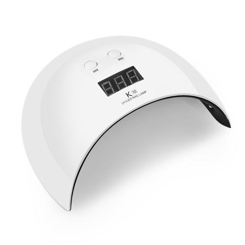 Lampada per unghie LED UV gel Lampada per polimerizzazione con essiccatore per unghie LED UV 24W