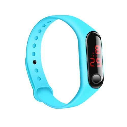 Nuovi bambini a LED tre generazioni di miglio braccialetto elettronico orologio sportivo braccialetto in silicone regali promozionali luce diretta all'ingrosso della fabbrica