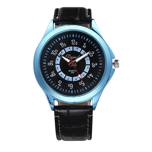Couple Watch His-and-hers Watches Business Wristwatch with Leather Strap Band for Men Women