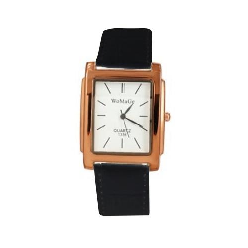 Fashionable Stylish Quartz Watch Luxury Business Wristwatch for Lady Men Women with Leather Strap Band