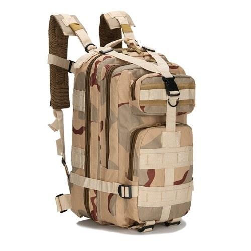 Туристический рюкзак 25L Survival Gear Pack Большая емкость Молл Мешок Функциональные рюкзаки Рюкзаки