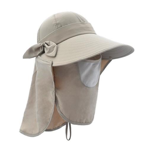 Chapéu de escudo ao ar livre