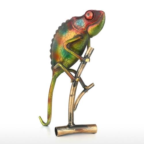 Lagarto Ornamento creativo Artículos para el hogar Decoración Arte Escultura de metal Regalo