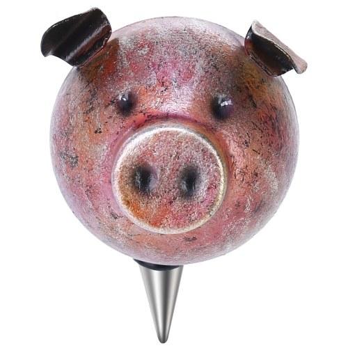 Tooarts Piggy Stopper Rolha de Garrafa de Vinho Material de Ferro Selo hermético Decorativo Piggy Cork Wine Wine Decor Kitchen Decor