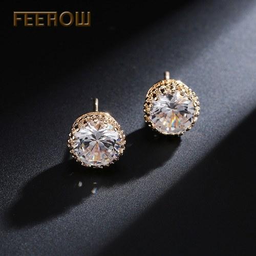 FEEHOW韓国版のエレガントなイヤリング