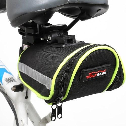 Bicycle tail bag road bike seat cushion kit bicycle rear seat tube bag Image