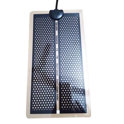 Honeycomb 7W Pet Heating Mat Electric Heating Pad Warming Mat for Reptiles Pet Supplies