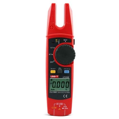 フォーククランプメーターデジタル表示静電容量抵抗AC / DCテストクランプタイプマルチメーター