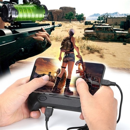 Gamepad for Pubg Controller Android Joystick Mobile Game Pad Controller With Cooling Fan Powerbank Gamepad фото