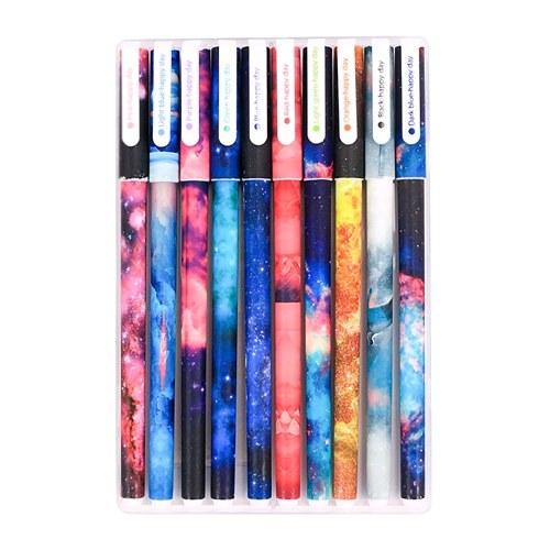 10 Pcs Color Gel Pens Set
