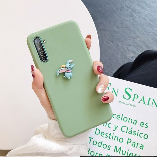 Couple Cartoon Matte Soft Shell Phone Case Compatible with OPPO Realme5 5Pro Q XT X2 3Pro 3 3i X K3