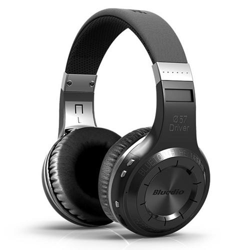 Wirelessly BT Headphones Foldable Stereo Headsets Earphone with Mic Super Bass HiFi Headphones Over Ear Smart APP Control Bluedio HT