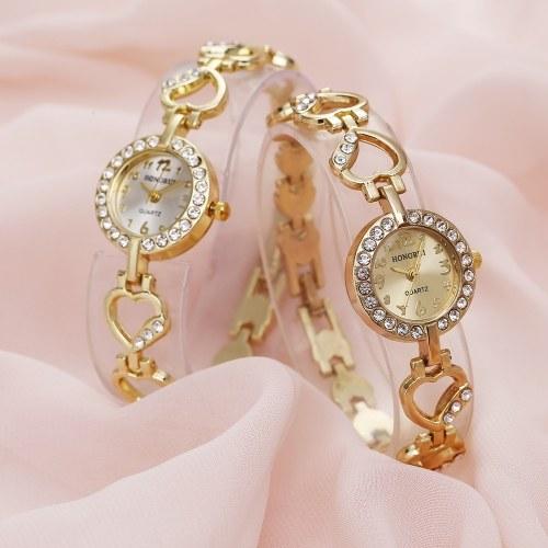 Punto de moda diamante amor aleación