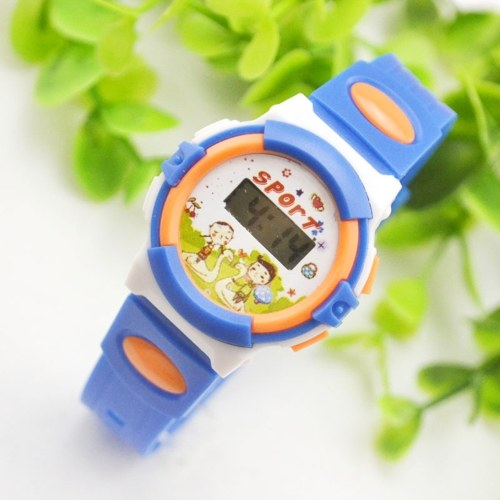 Cartoon Children's Watch Digital Wristwatch Birthday Party Favors Supplies Toys Gifts for Kids Toddlers