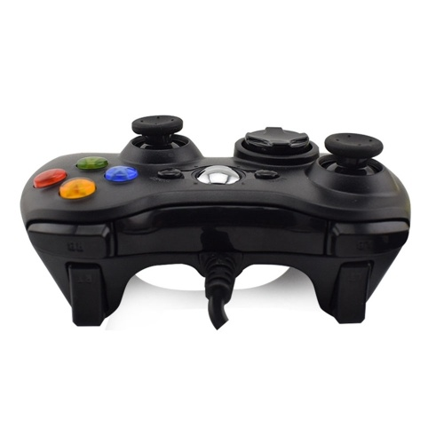 DATA FROG Xbox360 shape PC single with wired game controller USB cable PC gamepad white