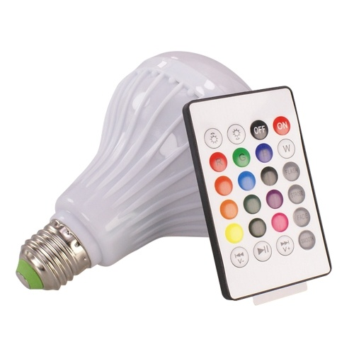 12W E27 Wireless Bluetooth Lautsprecher LED Birne