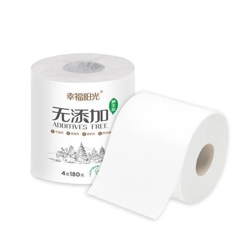 Рулон бумаги Мягкая и безопасная Dialy Необходимость 4 слоя 10 рулонов