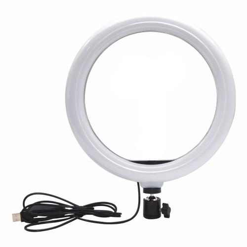 Circular Light Desktop Selfie Lopicca Circular Light 10 Inch 26 Live Fill Light 10 Inch/26CM Arc + PTZ
