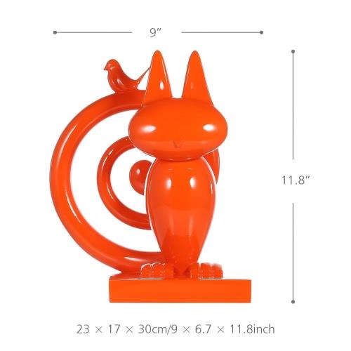 Tomfeel прятки Смола Скульптура домашнего декора современного искусства Фигурка животных Статуя Стекловолокно