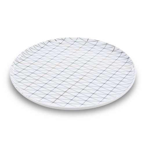 Ceramic Plate  Livingware Dinner Serving Plate Porcelain Dishes Microwave Safe Dishwasher Safe Plate
