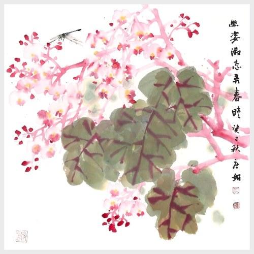 Fleurs en pleine floraison au printemps Vivid Flower Wall Art Peinture Home Decor Wall Imprimer images peinture suspendu