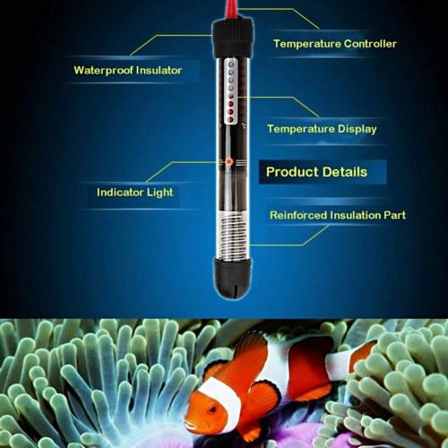Pet Product Aquarium Accessories Submersible Heater Heating Automatic temperature Rod for Aquarium Glass Fish Tank