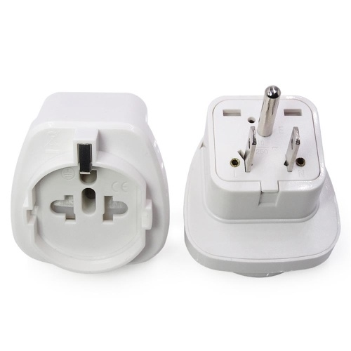 US standard three plug converter United States Japan universal conversion socket European regulation to the US standard adapter white