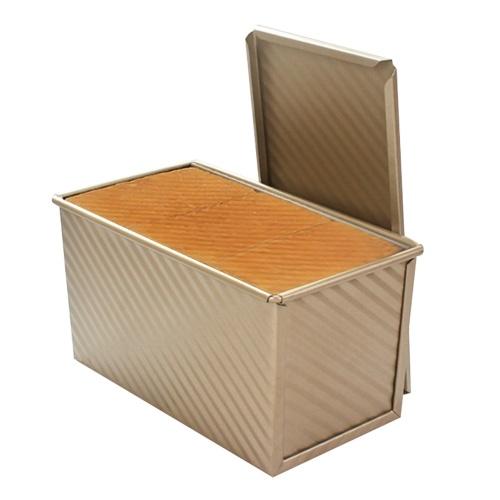 Caja de pan tostado rectangular Molde de pan