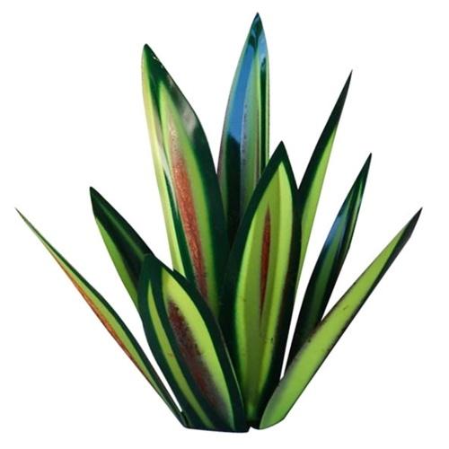 Cross-border new iron art agave plant ornaments green 27 cm