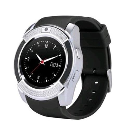 Empfindlicher V8 beweglicher Kreisschirm-intelligente Uhr-erwachsene Multifunktionsart- und weisesteckbare Karte BT-Telefon-Uhr