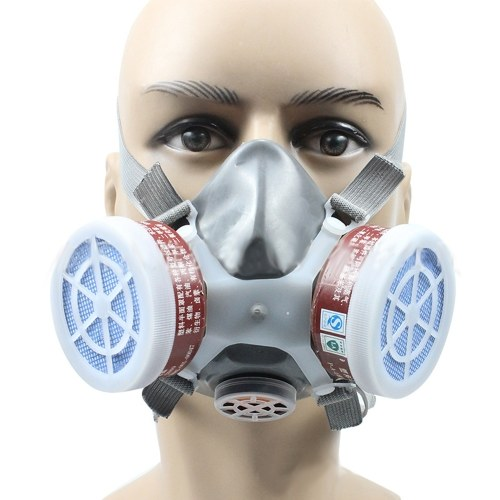 Gas Mask Respiratory Protection Respirator ...