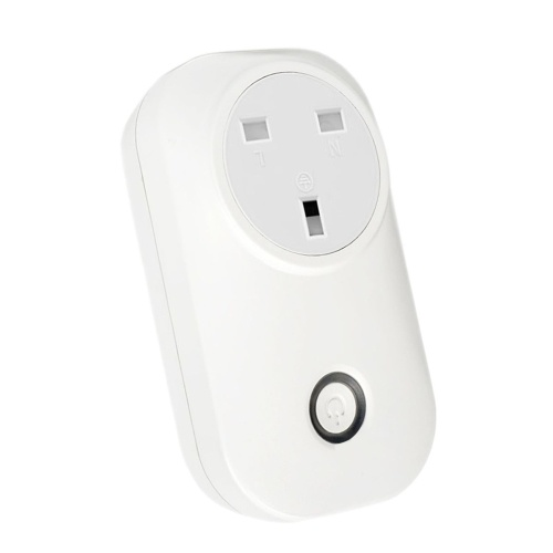 Tuya Mini Smart WiFi Socket UK Remote Control by Smart Phone from Anywhere Timing Function, Voice Control for Amazon Alexa and for Google Home IFTTT, TOMTOP  - buy with discount