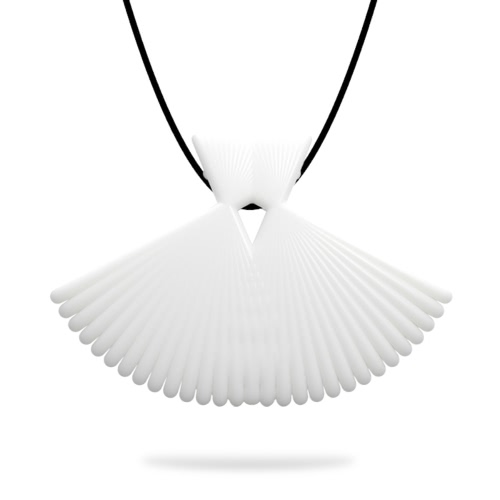 Tomfeel 3D Printed Jewelry Elegant Modeling Pendant Necklace Accessories