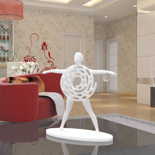 Tomfeel 3D Printed Sculpture Vitruvian Man Originalmente diseñado decoración del hogar ornamento de equipamiento