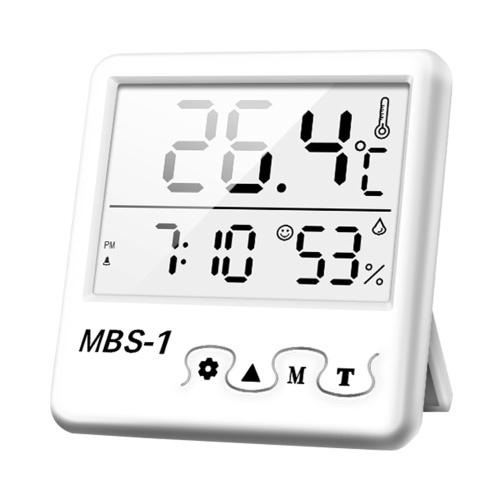 Измеритель температуры и влажности Точный комнатный гигрометр-термометр Монитор влажности в помещении Датчик температуры для домашнего офиса в теплице | Предупреждение о выражении на большом ЖК-дисплее Макс. Минимальные записи (батареи 3А в комплект не входят)