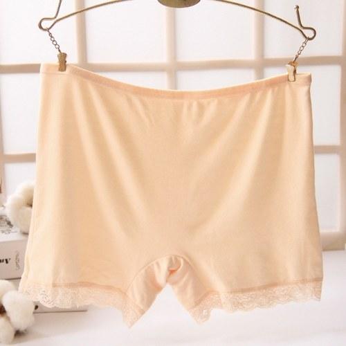 Pantalones cortos de seguridad Faldas cortas de algodón sin costuras de seguridad