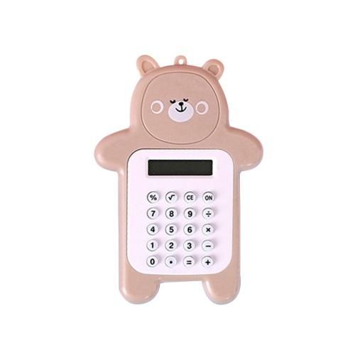 Calculator Electronic 8-Digit Bear Compact