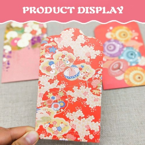 10PCs Chinese Red Envelopes