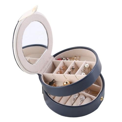Ящик для хранения ювелирных изделий Организатор Круглый