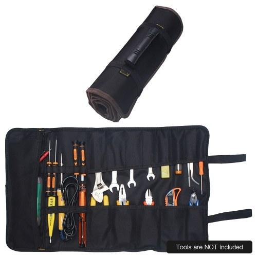 Herramientas de rollo portátiles Organizador de bolsas Kit de herramientas Bolsa de almacenamiento Bolsas multifunción Bolsa para pesca Maquillaje Artesanía