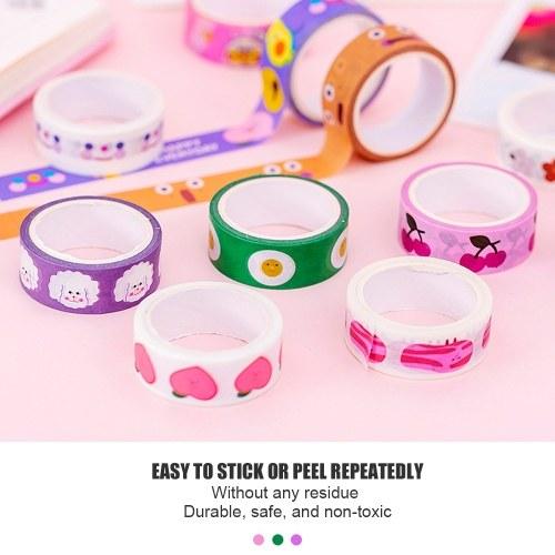 Washi Tape Decorative Masking Tapes  Adhesive Stickers
