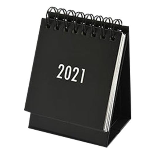 2021 Einfarbiger Mini-Schreibtischkalender monatlich